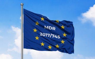 Regulation (EU) 2017/745 заменя действащата до<br>момента Директив 93/42 и се въвеждат нови, по-строги мерки за контрол по веригата за производство и доставка на Медицински Изделия.